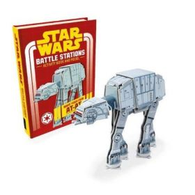 Star Wars, Battle Stations: Activity Book and Model (Hardcover)