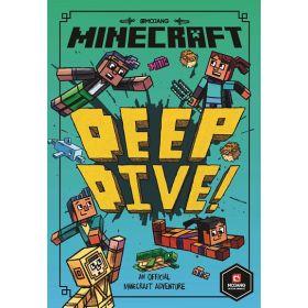 Minecraft: Deep Dive, Minecraft Woodsword Chronicles, Book 3 (Paperback)
