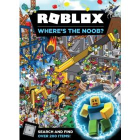 Roblox: Where's the Noob? Search and Find Book (Hardcover)
