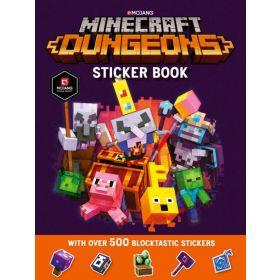 Minecraft Dungeons Sticker Book (Paperback)