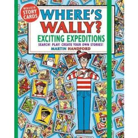 Where's Wally? Exciting Expeditions: Search! Play! Create Your Own Stories! (Paperback)