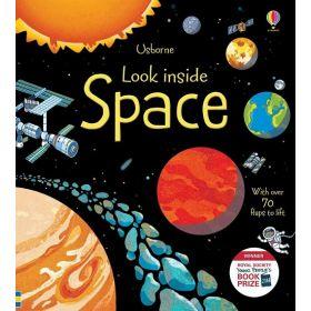 Space: Look Inside Series (Hardcover)