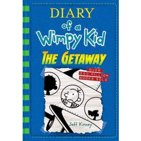 The Getaway: Diary of a Wimpy Kid, Book 12, Export Edition (Paperback)