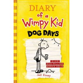 Dog Days: Diary of a Wimpy Kid, Book 4 (Hardcover)