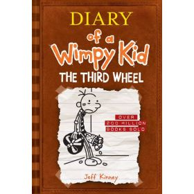 Third Wheel: Diary of a Wimpy Kid, Book 7 — New Edition (Hardcover)