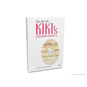 The Art of Kiki's Delivery Service: A Film by Hayao Miyazaki (Hardcover)
