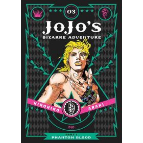 JoJo's Bizarre Adventure: Part 1 - Phantom Blood, Vol. 3 (Hardcover)