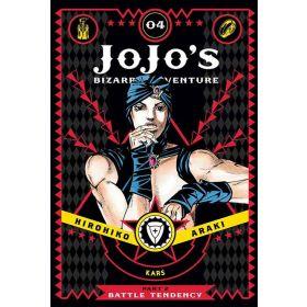 JoJo's Bizarre Adventure: Part 2 - Battle Tendency, Vol. 4 (Hardcover)