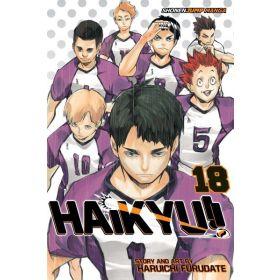 Haikyu!!, Vol. 18 (Paperback)