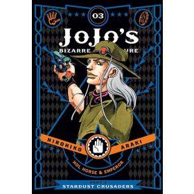 JoJo's Bizarre Adventure: Part 3 - Stardust Crusaders, Vol. 3 (Hardcover)