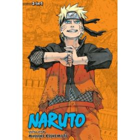 Naruto 3-in-1 Edition, Vol. 22: Includes Vols. 64, 65 & 66 (Paperback)