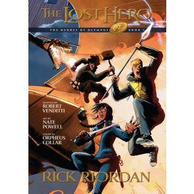The Lost Hero: Heroes of Olympus Book 1 (Paperback)