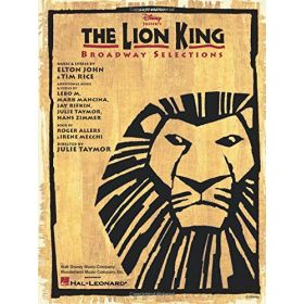 The Lion King-Broadway Selections, Easy Piano (Paperback)