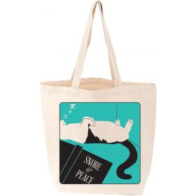 Lovelit: Snore and Peace, Cat Tote Bag