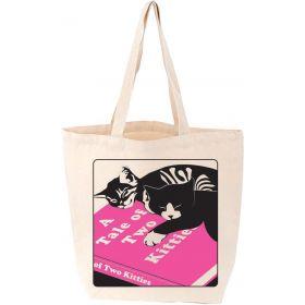 LoveLit: A Tale of Two Kitties Cat Tote Bag