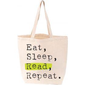 LoveLit: Eat, Sleep, Read, Repeat Tote Bag