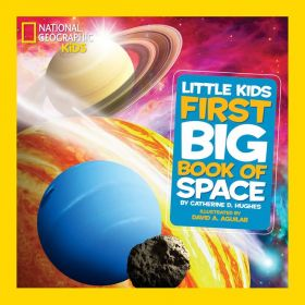 National Geographic Little Kids: First Big Book of Space (Hardcover)