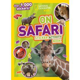 National Geographic Kids On Safari Sticker Activity Book (Paperback)