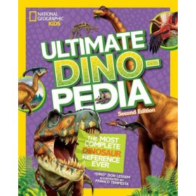 National Geographic Kids: Ultimate Dinopedia, Second Edition (Hardcover)