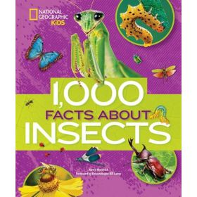 1,000 Facts About Insects (Hardcover)