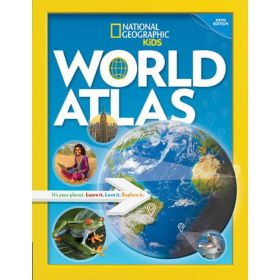 National Geographic Kids: World Atlas, 5th Edition (Paperback)