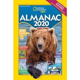 National Geographic Kids Almanac 2020, International Edition (Paperback)
