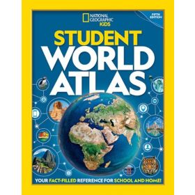 National Geographic Kids: Student World Atlas, 5th Edition (Paperback)