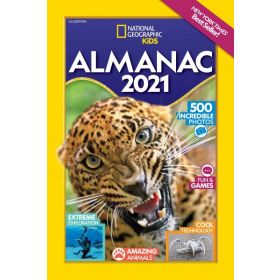 National Geographic Kids Almanac 2021, U.S. Edition  (Paperback)