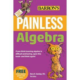 Painless Algebra Barron's Painless (Trade Paperback)