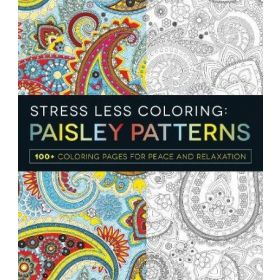 Stress Less Coloring: Paisley Patterns (Paperback)