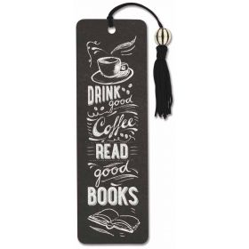 Peter Pauper: Beaded Bookmark (Coffee and Books)