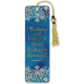Peter Pauper: Beaded Bookmark (Be Strong and Courageous)