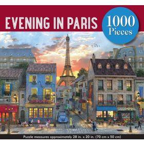 Evening in Paris: 1,000-Piece Jigsaw Puzzle