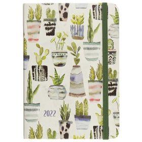 2022 Watercolor Succulents Weekly Planner