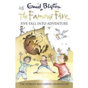 Five Fall into Adventure, The Famous Five Book 9 (Paperback)