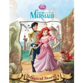 Disney The Little Mermaid Magical Story with Lenticular Front Cover (Hardcover)