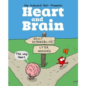 Heart and Brain: An Awkward Yeti Collection, Vol. 1 (Paperback)