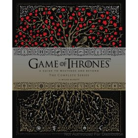 Game of Thrones: A Guide to Westeros and Beyond: The Complete Series, Gift for Game of Thrones Fan (Hardcover)