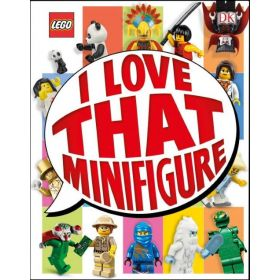 Lego: I Love That Minifigure, Library Edition (Hardcover)