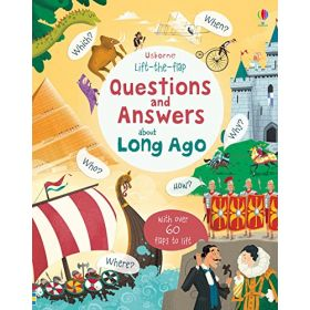 Lift-The-Flap Questions & Answer About (Board Book)