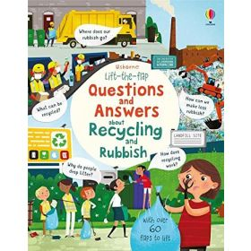 Questions and Answers about Recycling and Rubbish: Lift-the-Flap (Board Book)
