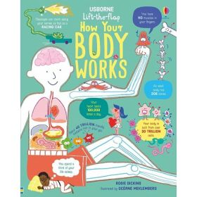 How Your Body Works: Lift-the-Flap (Hardcover)