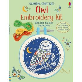 Embroidery Kit: Owl (Hardcover)
