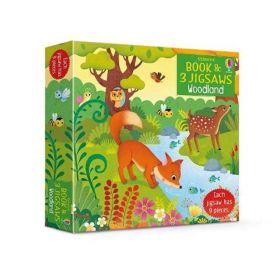 Woodland, Jigsaw Book (Puzzle)