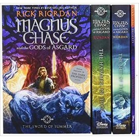 Magnus Chase and the Gods of Asgard, Three-Book Boxed Set (Paperback)