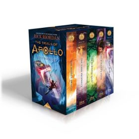 Trials of Apollo, 5-Book Boxed Set (Hardcover)