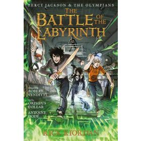 The Battle of the Labyrinth: Percy Jackson and the Olympians, Book 4, Graphic Novel (Hardcover)