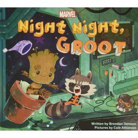 Night Night, Groot (Board Book)