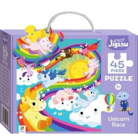 Junior Jigsaw: Unicorn Race (Puzzle)