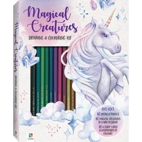 Magical Creatures Colouring and Drawing Kit (Mixed Media Product)
